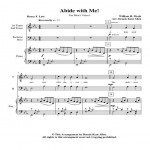 Abide with Me! M V Web Icon