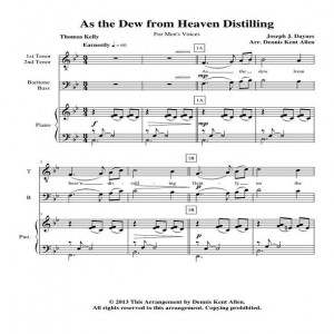 As the Dew from Heaven Distilling M V Web Icon