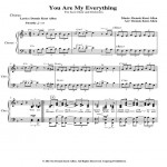 You Are My Everything Chorus J C & O Web Icon