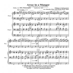 Away in a Manger Cover Sheet