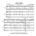 Silent Night Cover Sheet