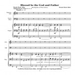 Blessed Be the God and Father Cover