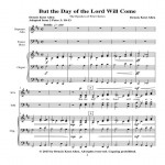 But the Day of the Lord Will Come Web Site
